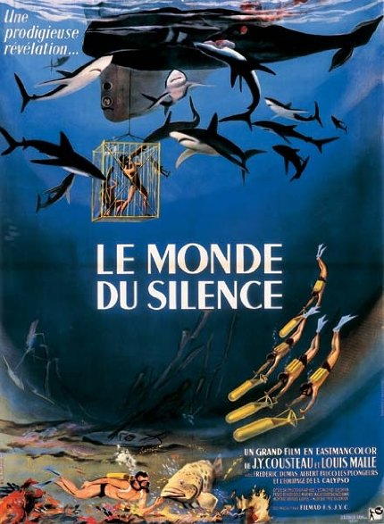 《沉默的世界》海报