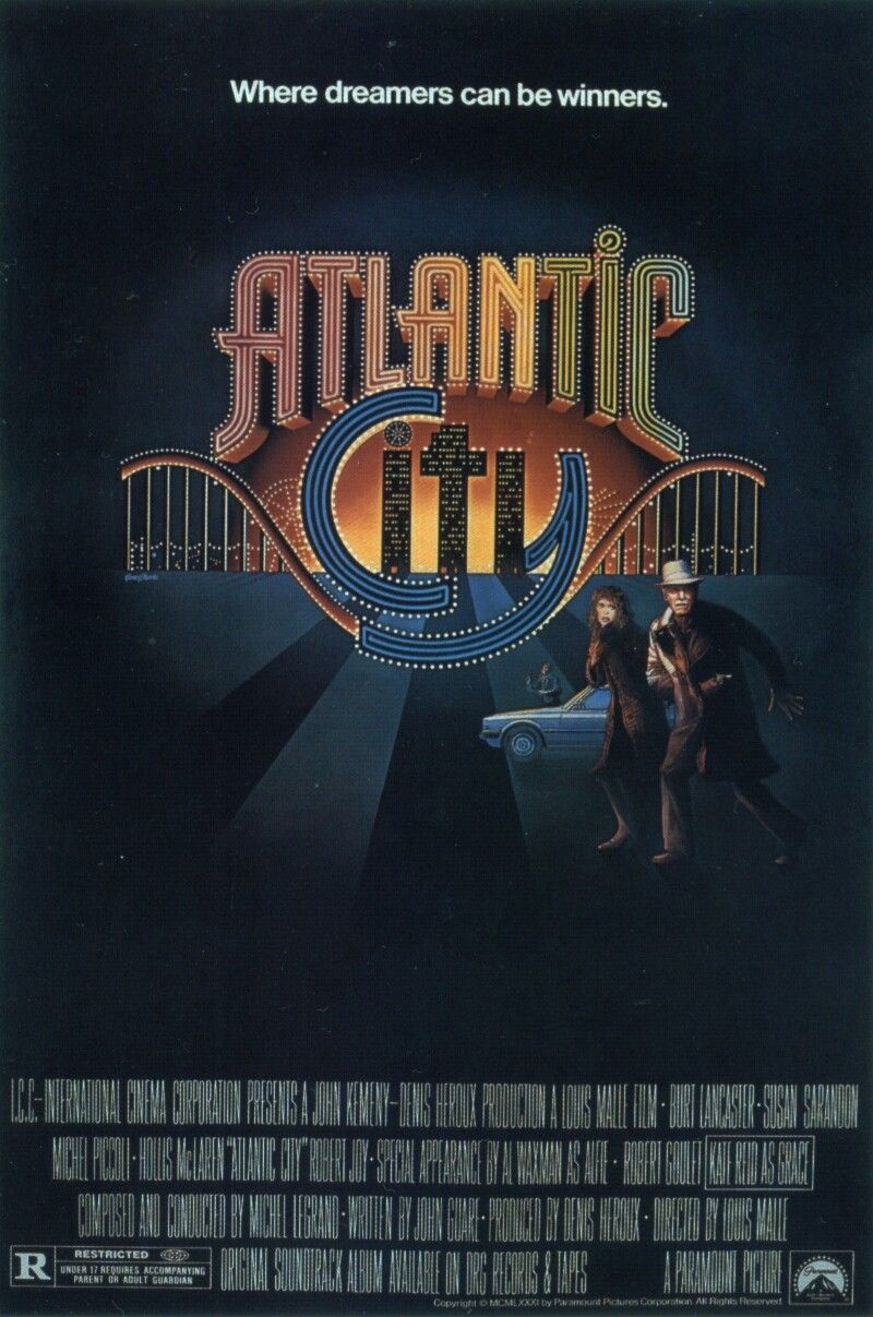 《大西洋城》海报