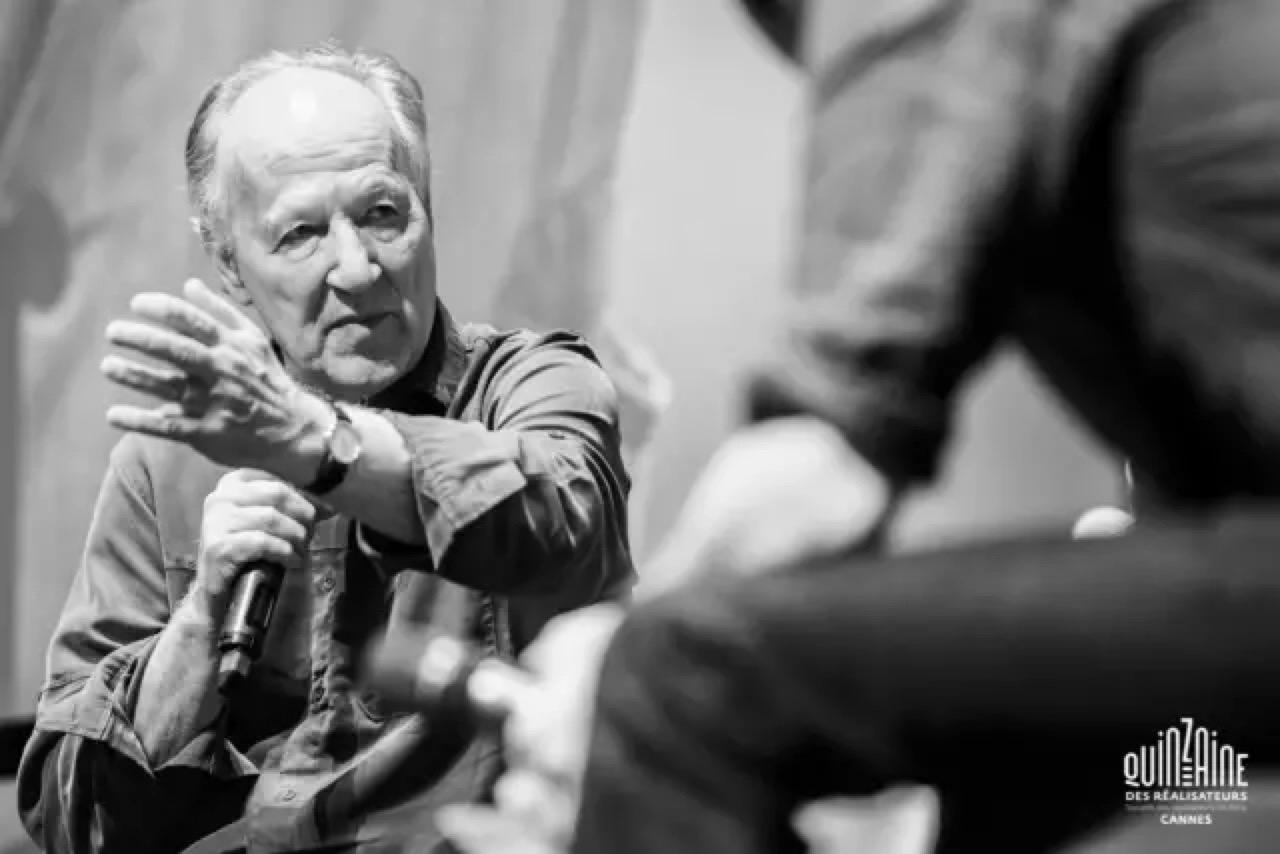 沃纳·赫尔佐格在金马车奖颁奖现场