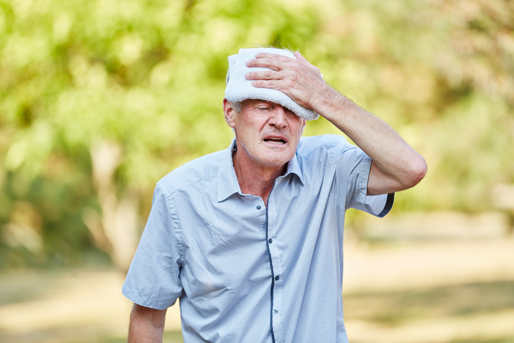 Advice for older people on staying safe in hot weather