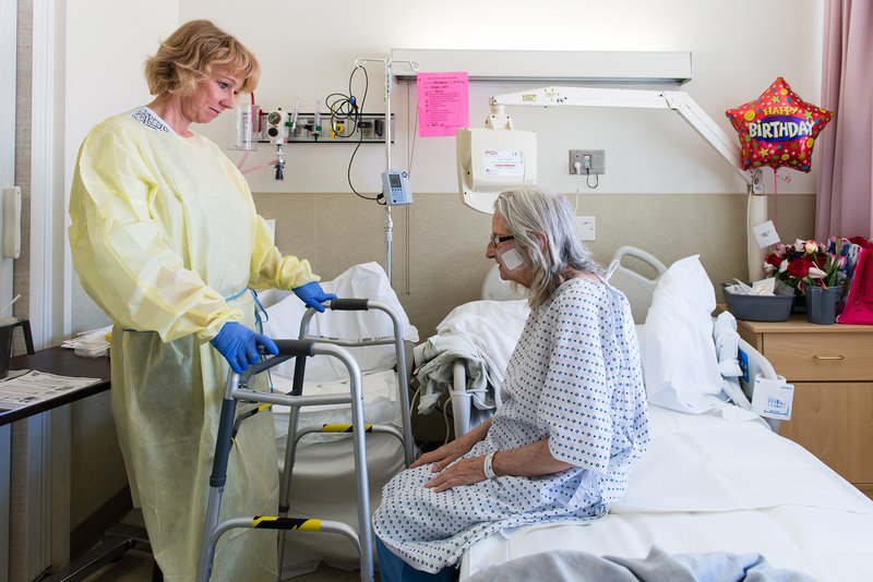 Hospital Units Tailored To Older Patients Can Help Prevent Decline