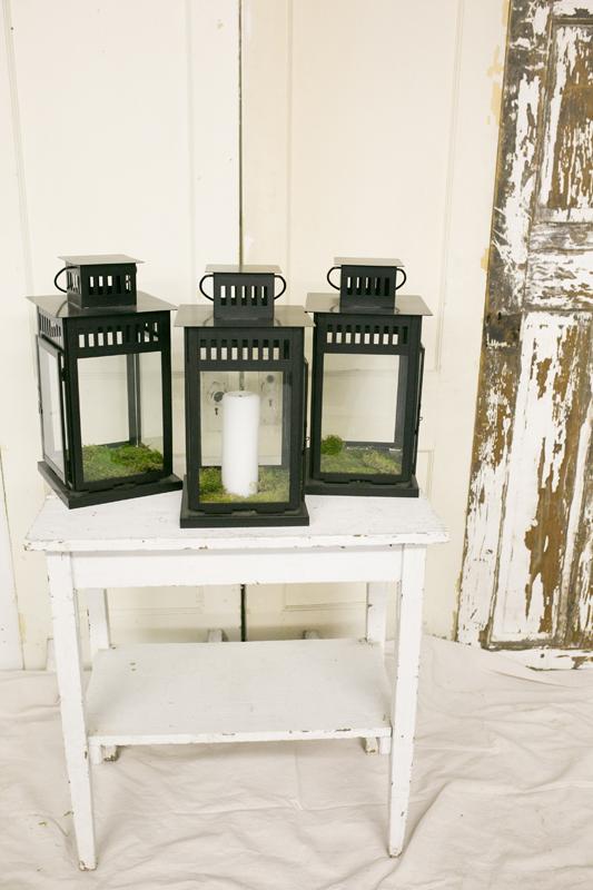Black Lanterns~Rental $25 each