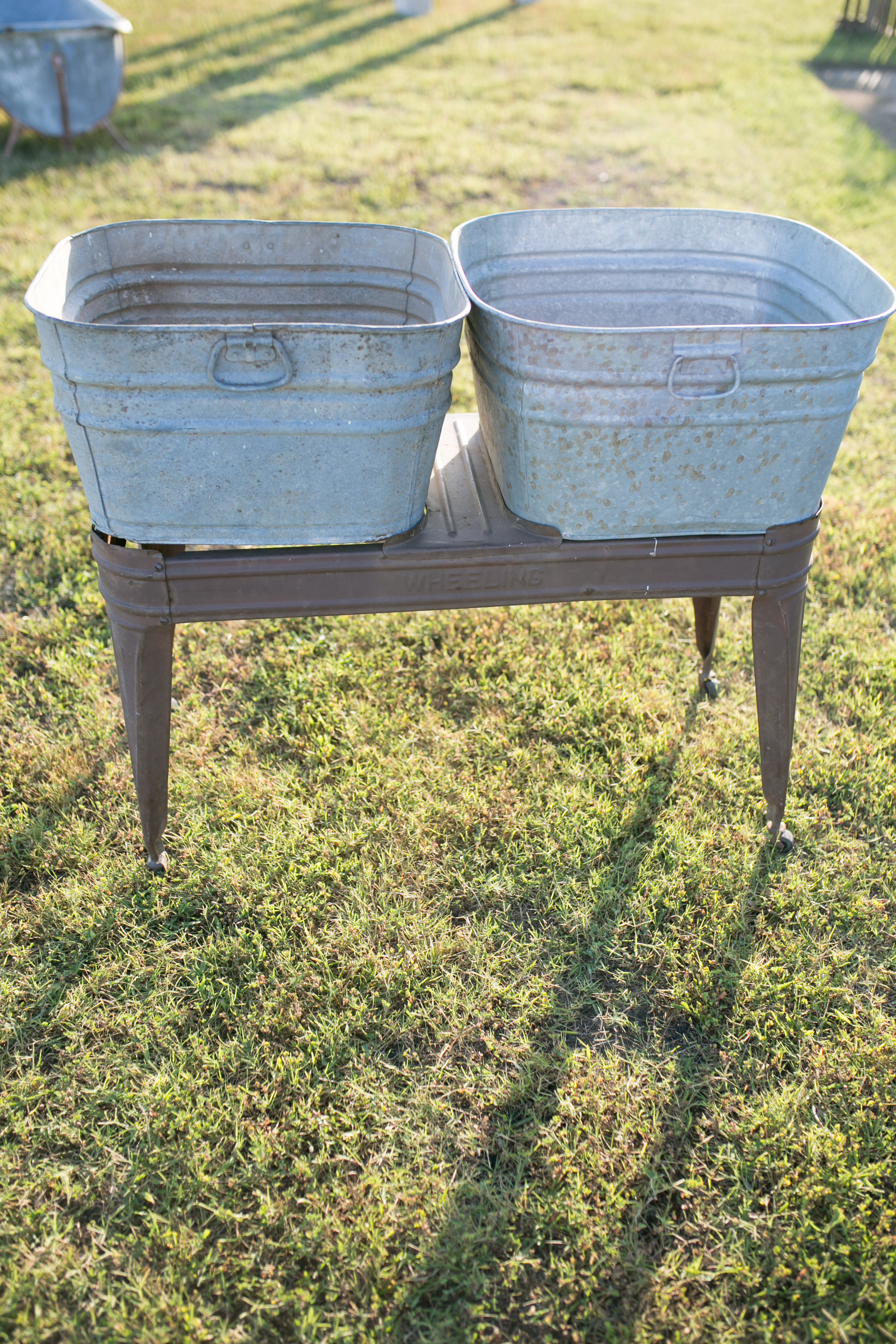 Double Washstand~Rental $35
