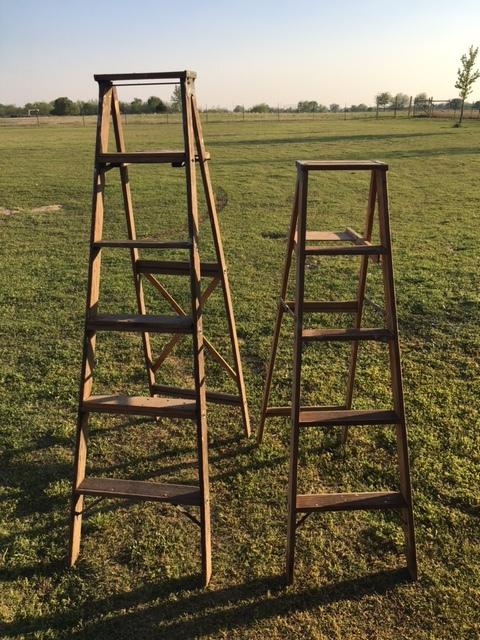 Tall Ladders~Rental $15 each