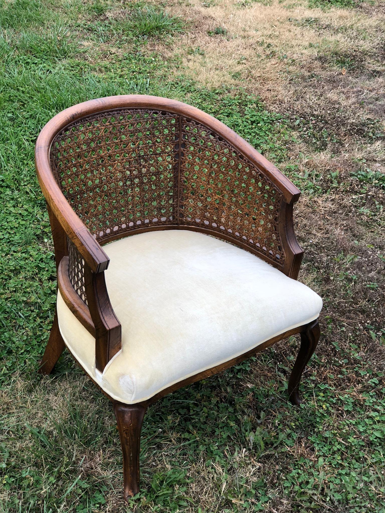 Cream Cane Chair~$20