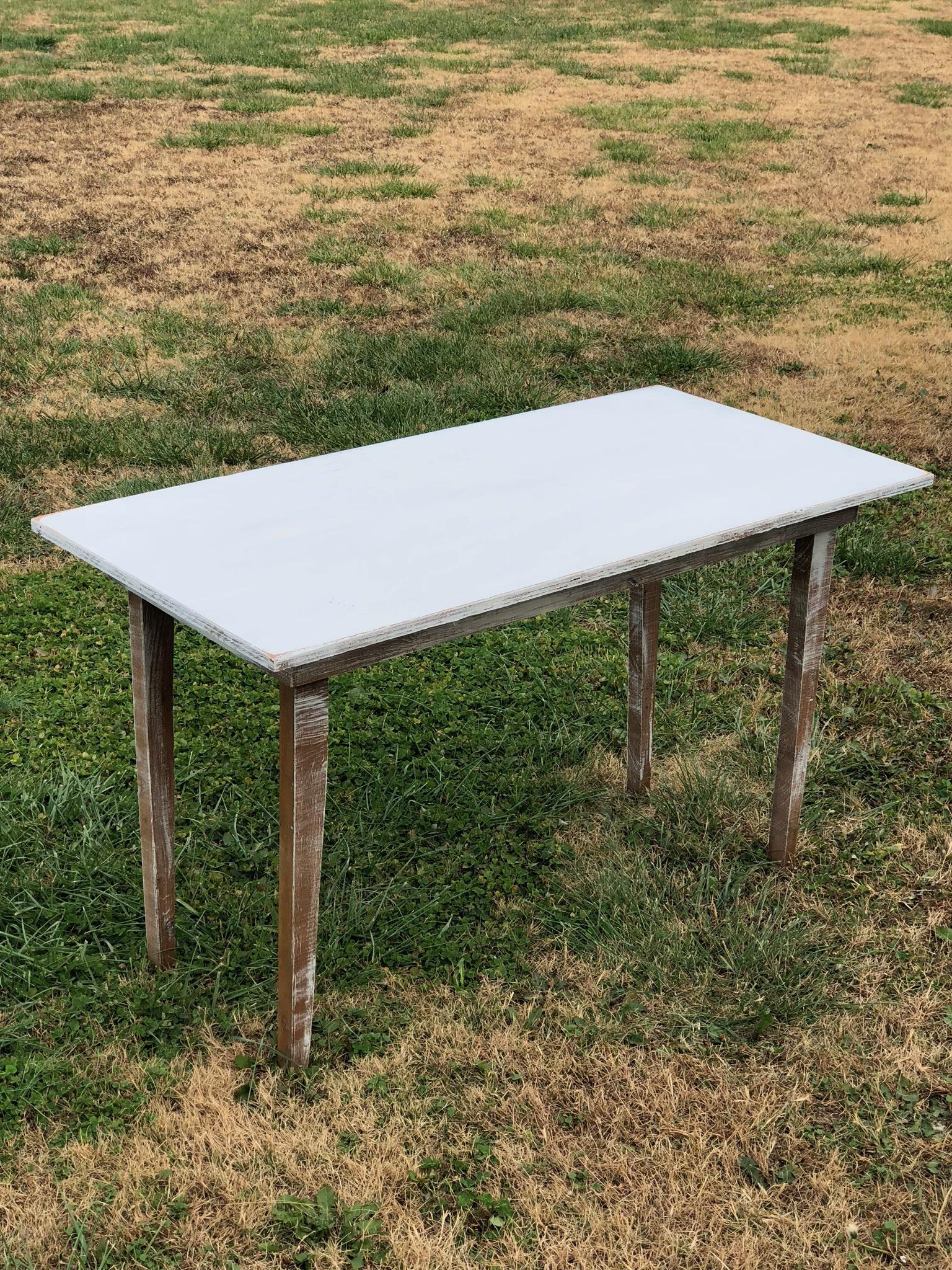 Rustic Wood Table~Rental $25