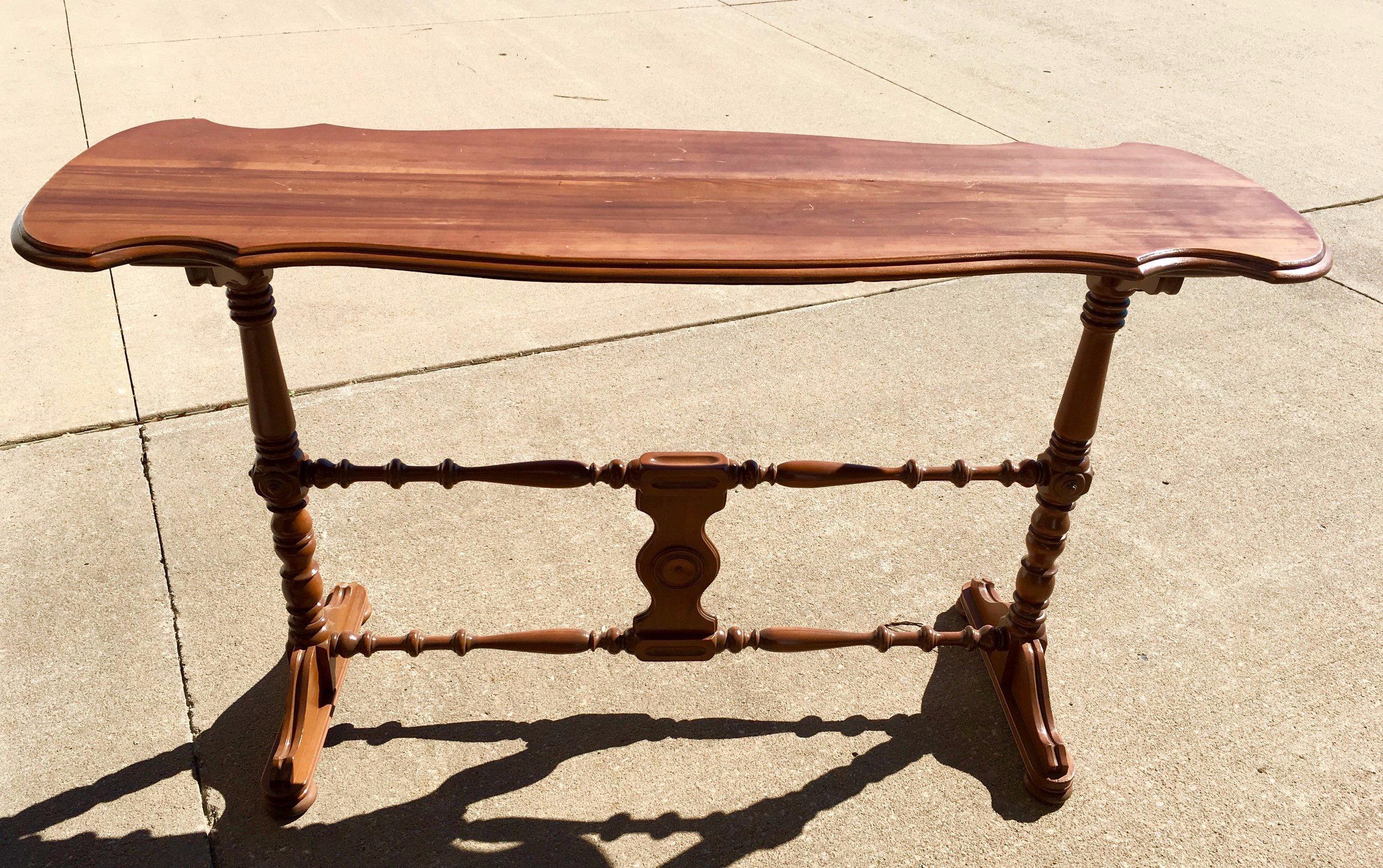Wood Table~Rental $25