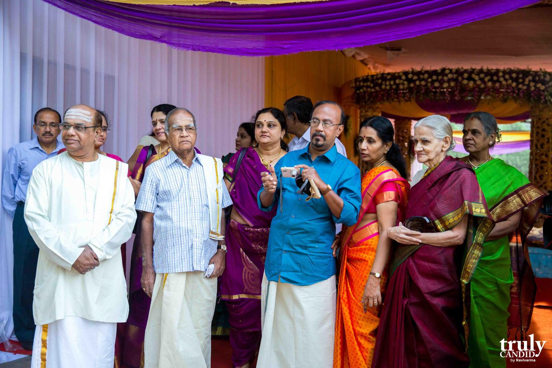 brides relatives