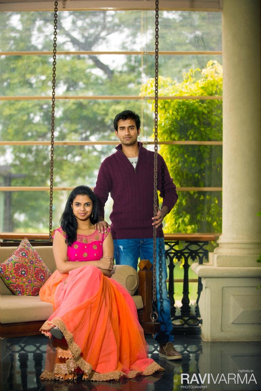 Elegant Indian Couple Location Shoot