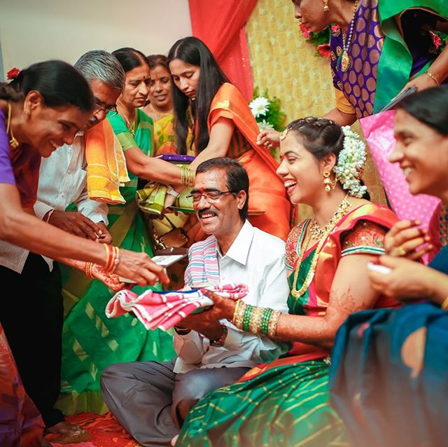 All the fun captured  #Trulycandid #southindianwedding #brideshower #weddingphotography #candidshot #candidwedding