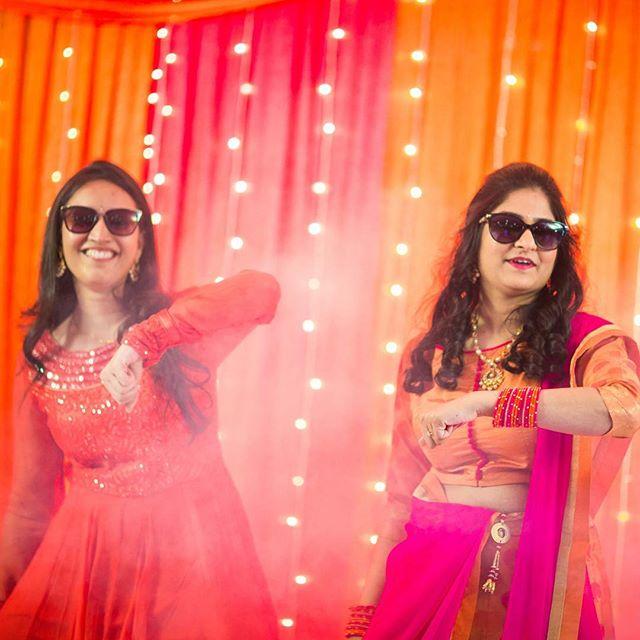 Sangeet is all fun!!! #Trulycandid #sangeetnight #dance #wedmegood #candidphotography