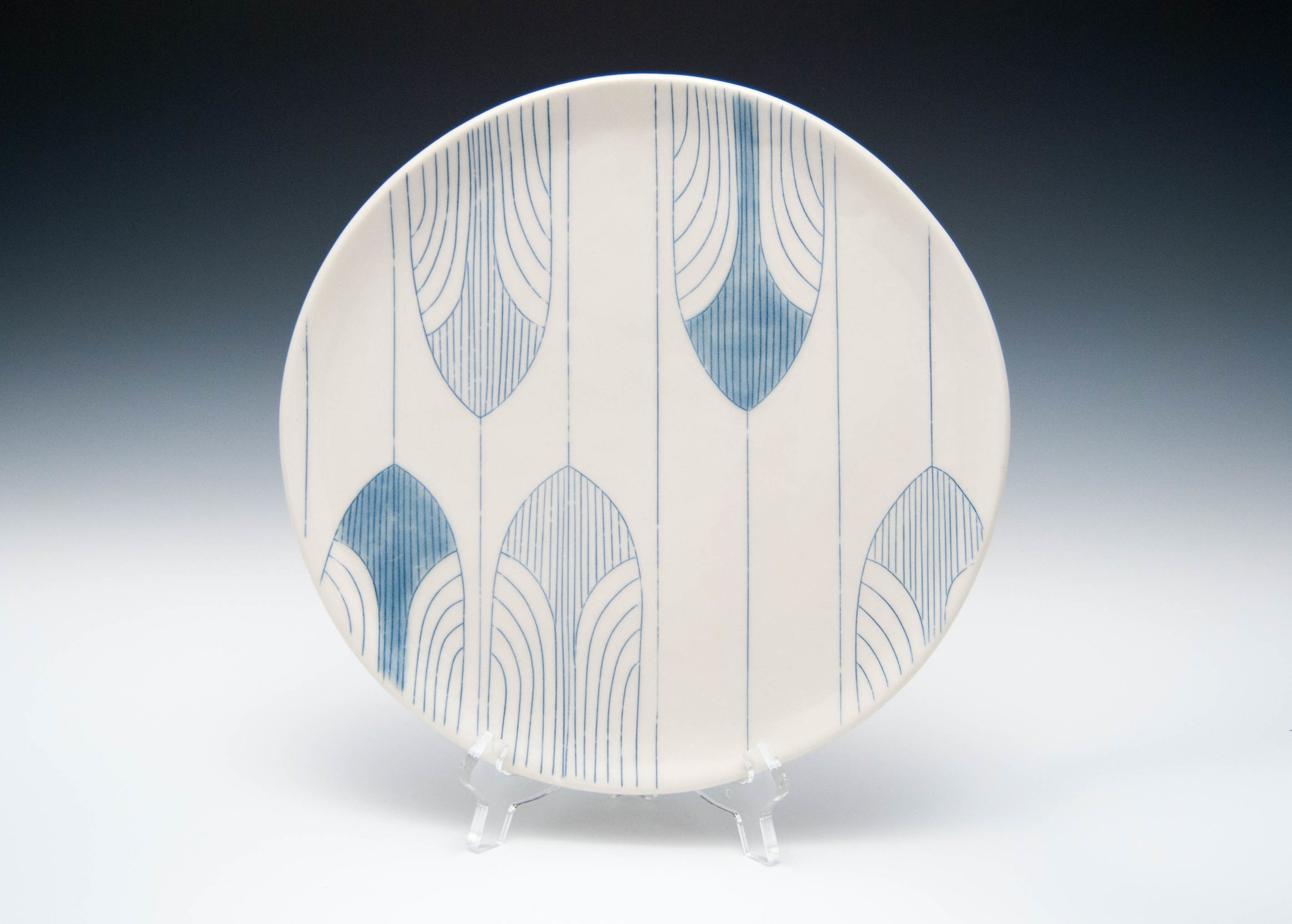 Architectural Serving Plate
