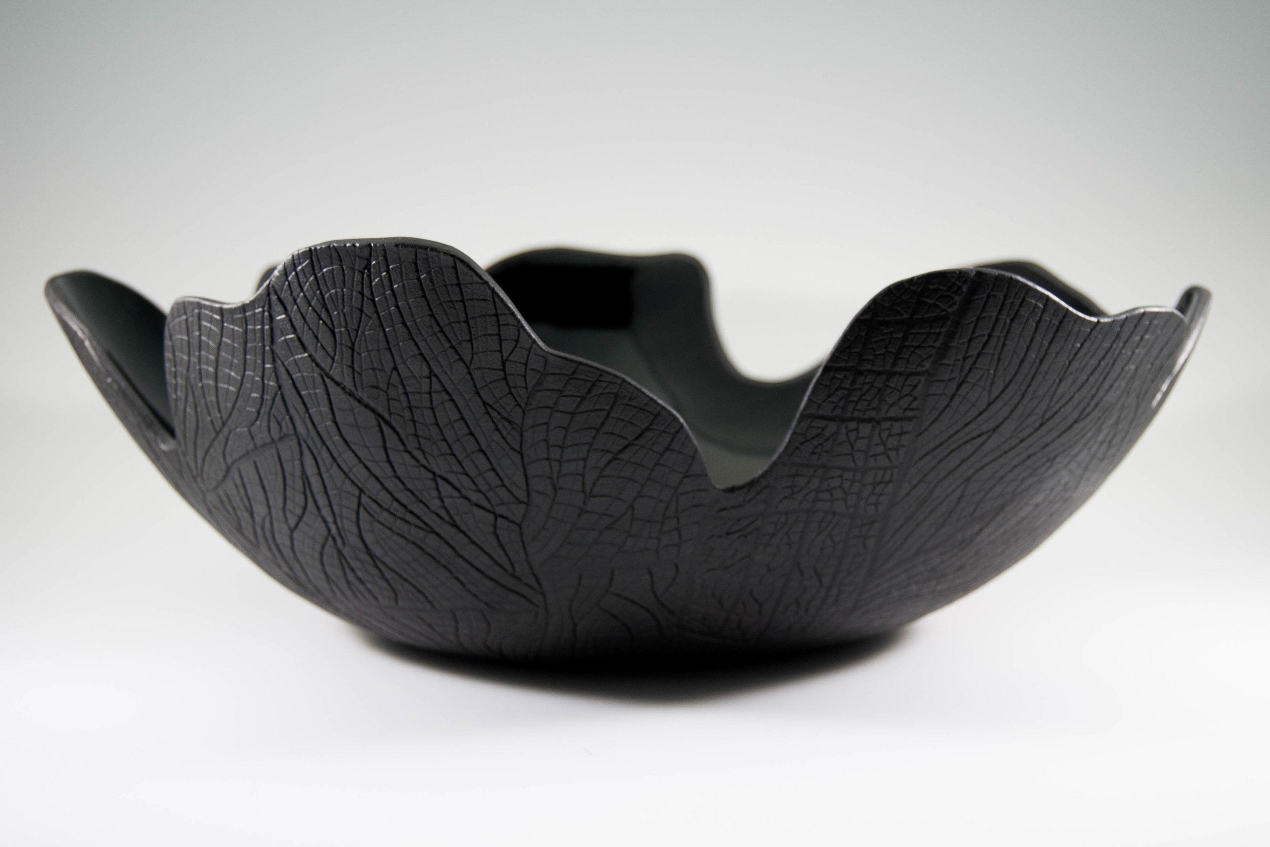 Burned Bark Charcoal Fruit Bowl