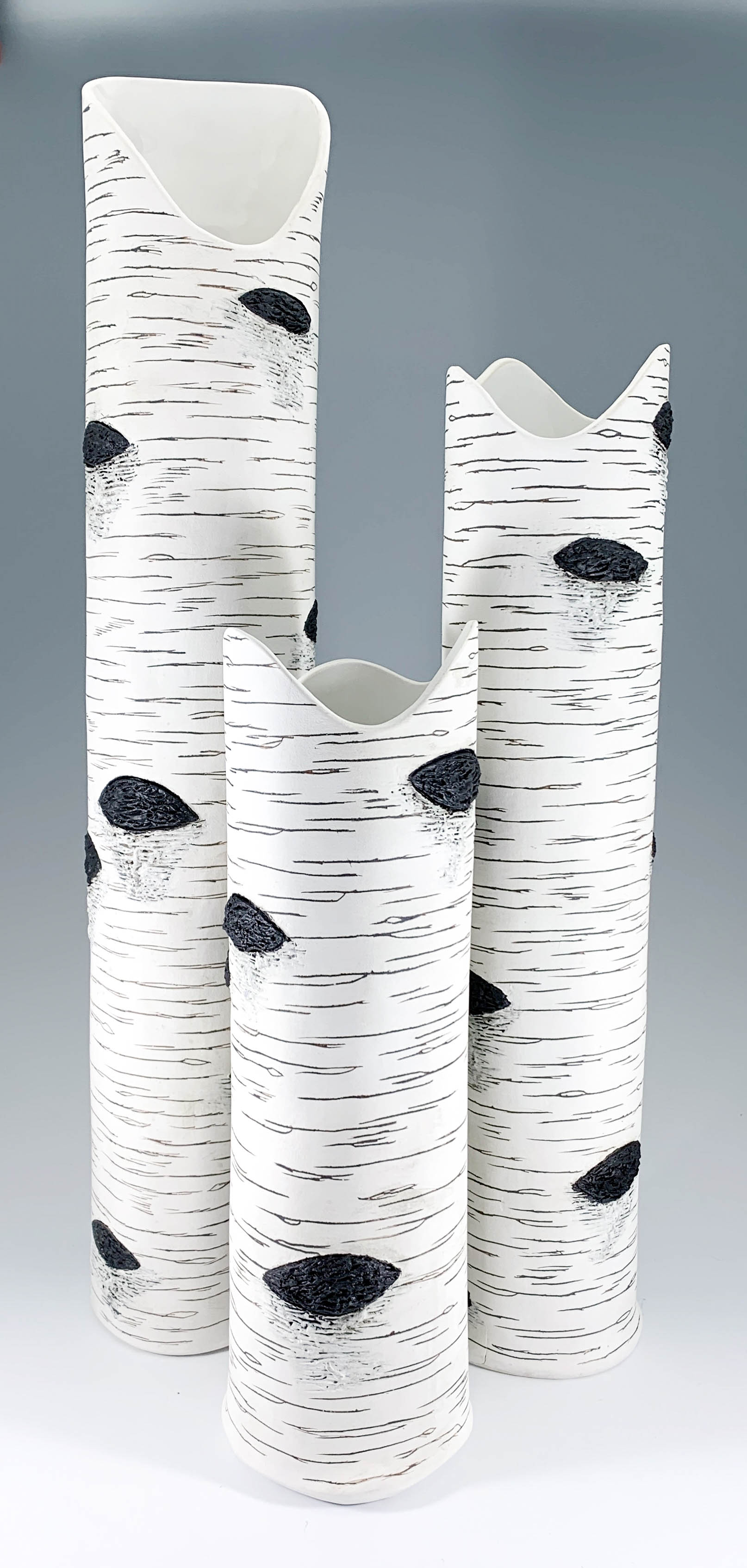 Birch Bark Vase Grove