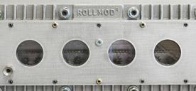 Modulo tipo A - Modulo con minimo spazio tra i rulli per il trasporto di piccoli componenti da 40 mm di diametro senza vassoi. Manutenzione semplice grazie al design modulare per l'azionamento, l'immagazzinamento, l'isolamento e la tenuta del gas.