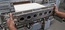 I moduli sono di facile e rapida sostituzione (per pulizia, manutenzioni, ecc.).
