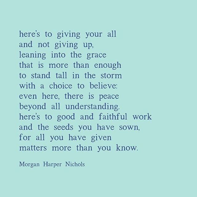 Here's to giving your all ✨