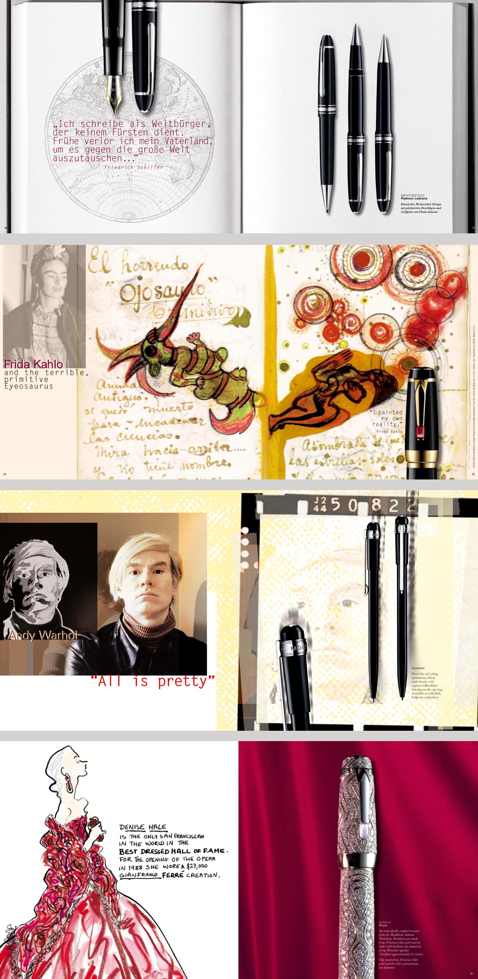 Writing Instruments Brochure I