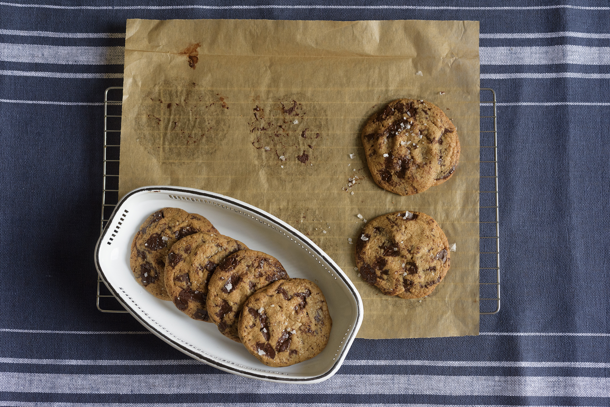 Mast Brothers salted chocolate biscuits