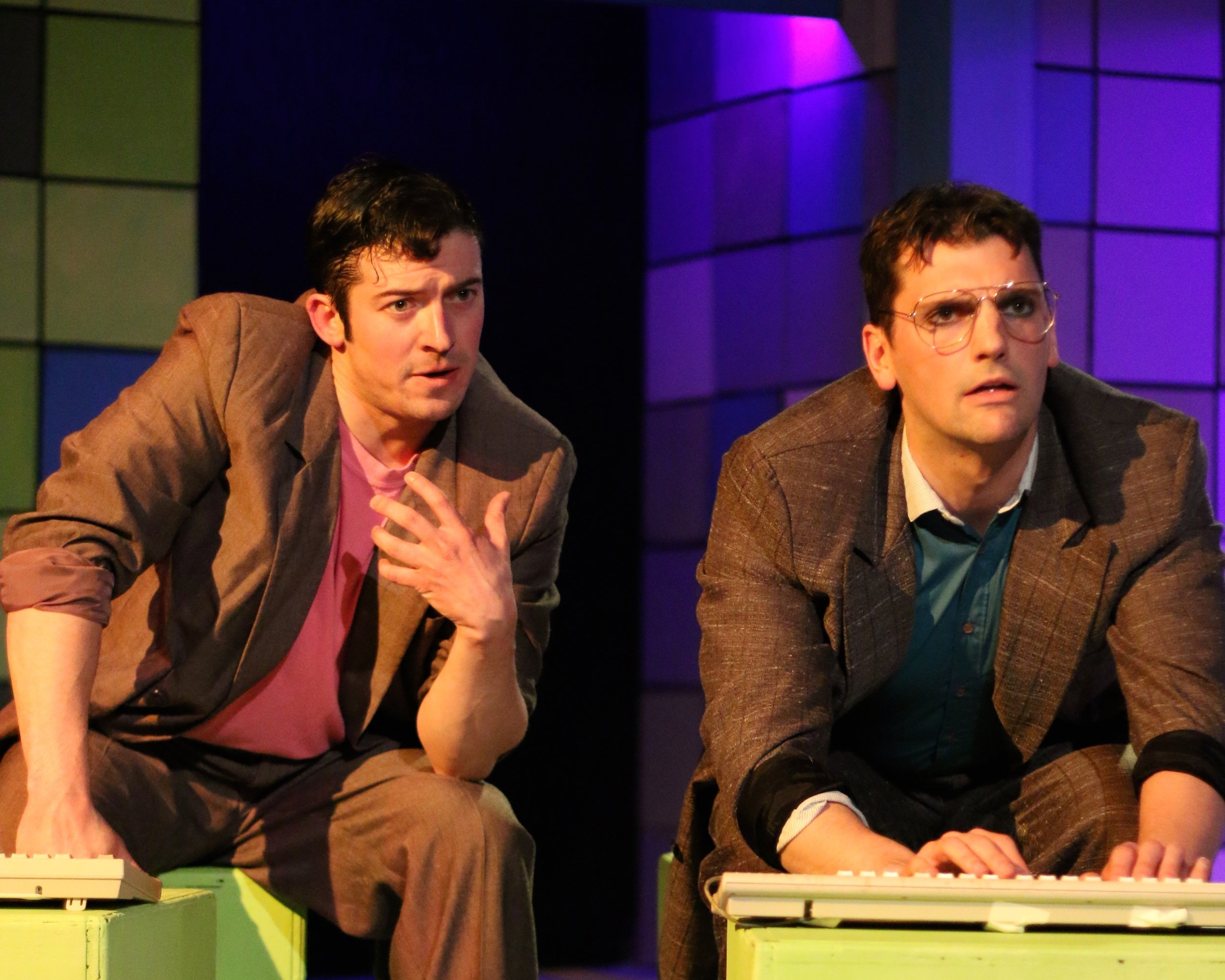 David Coupe and Mike Newquist in  Prelude To A Kiss . Photo by Cody Jolly.