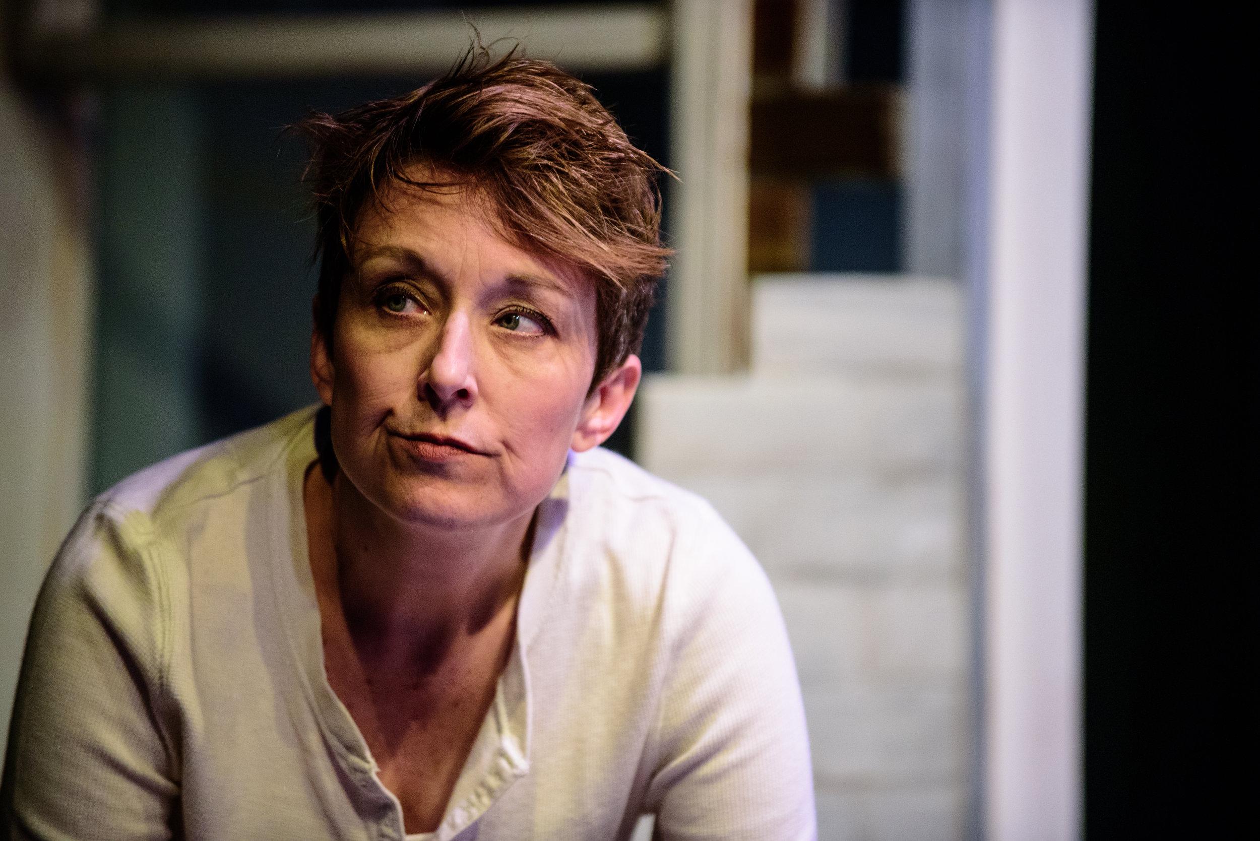 Kelli Walker in  In The Wake . Photo by Paul Goyette.