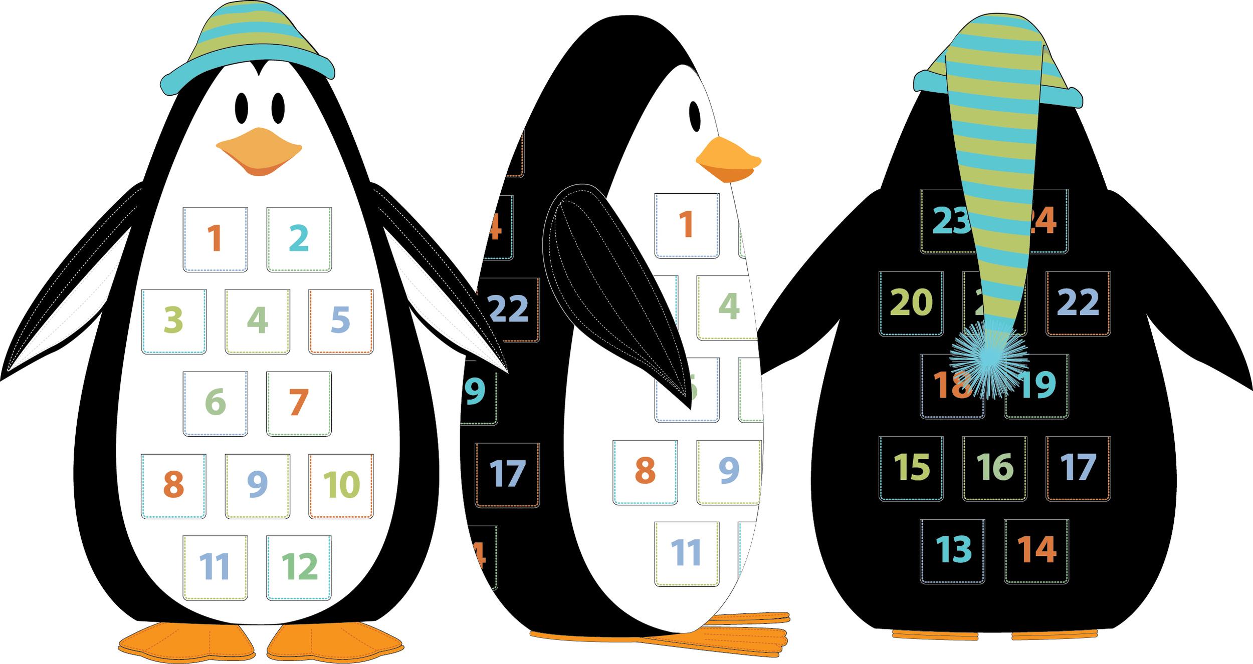 Penguin Advent Calendar