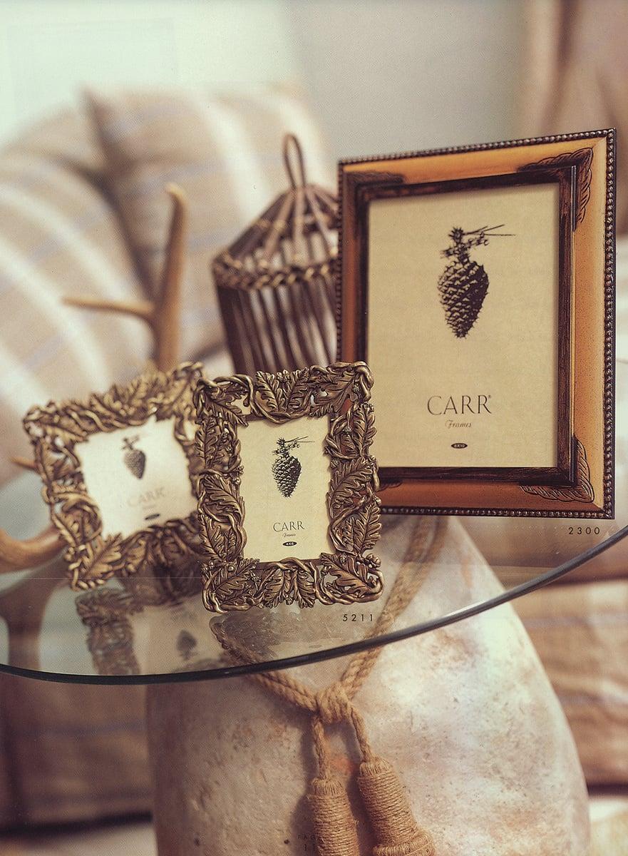 Oak Leaves Die Cast Metal Frame