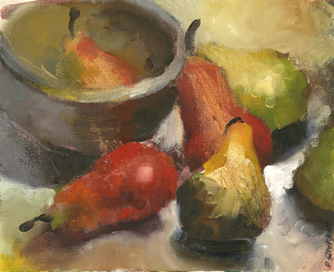 Patti King Slavtcheff_Fine Art_Pears