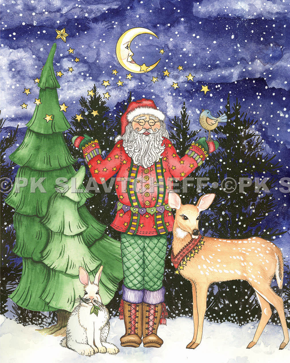Patti King Slavtcheff_Christmas_Santa