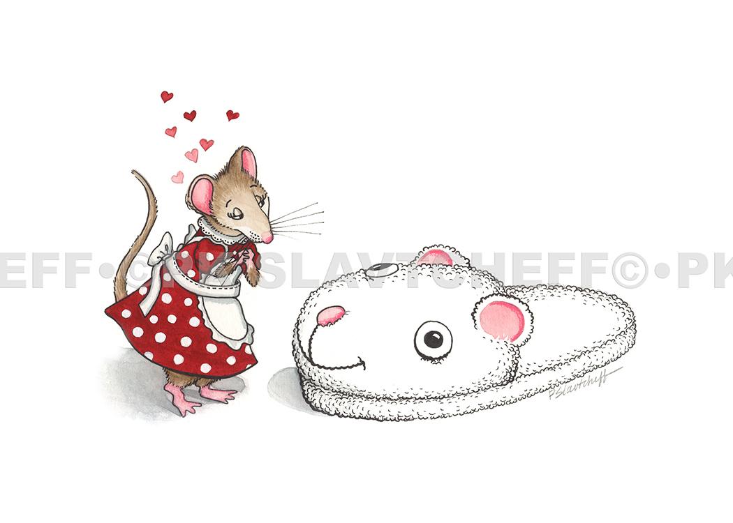 Patti King Slavtcheff_Love_Love Mouse 2