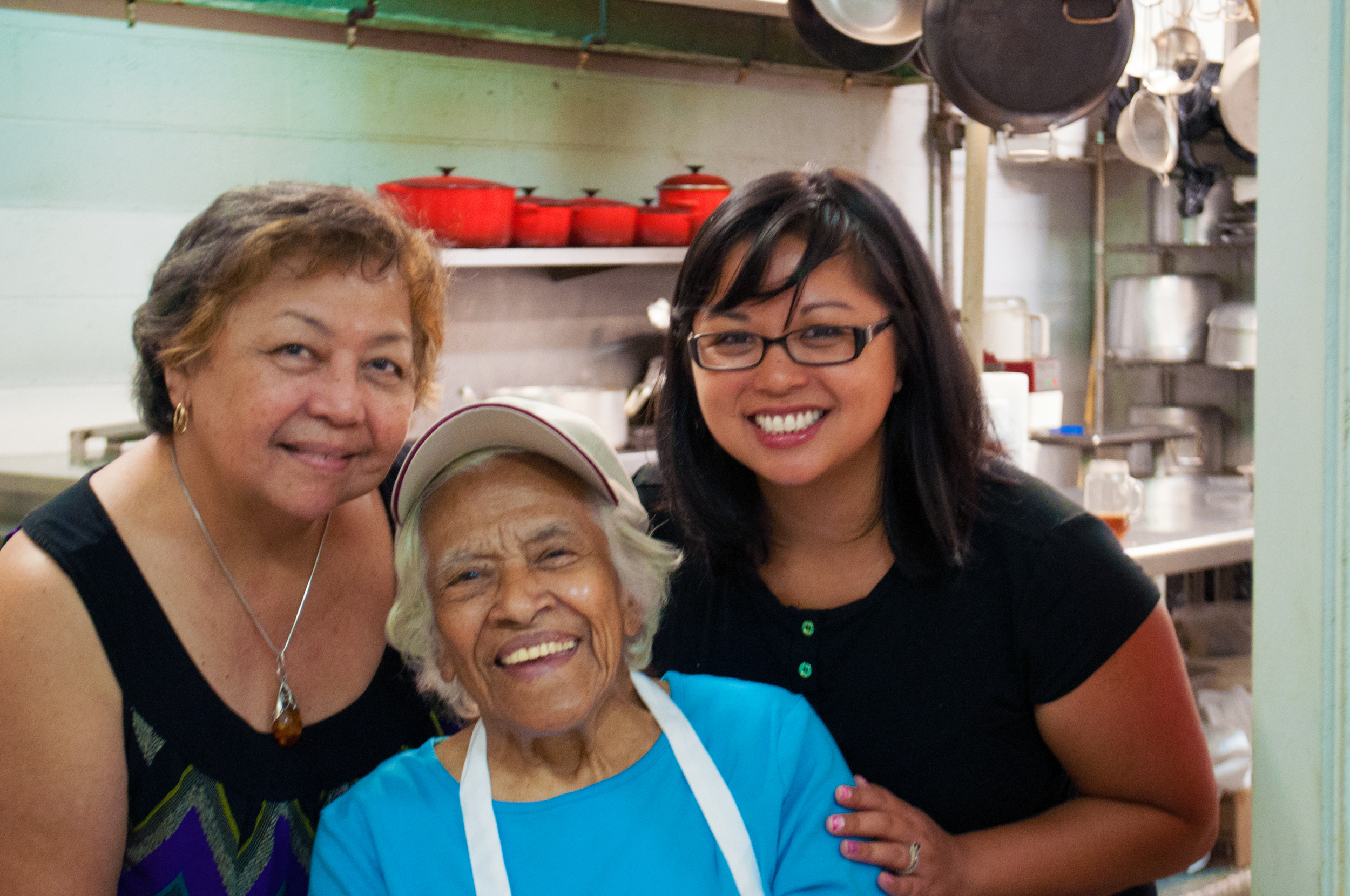 Carolina, Mrs. Leah Chase, Amanda