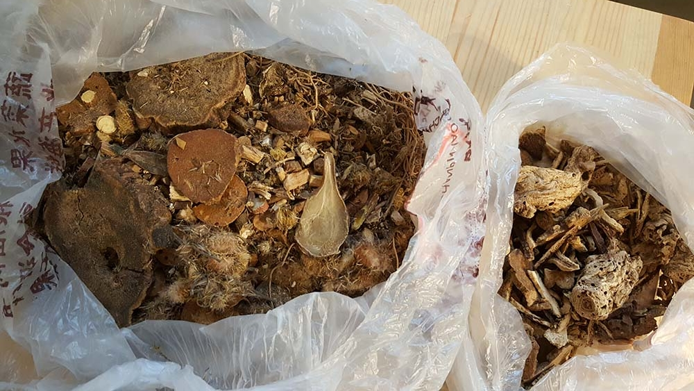 My Chinese herbal mix from Xue Laoshi.