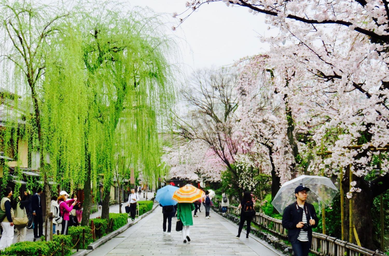 Kyoto, Japan - April 2017