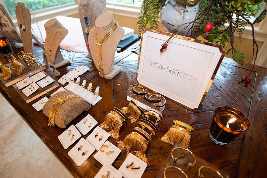 Charmed Circle jewelry by designer and co-owner of Cakewalk, Gina Cartwright