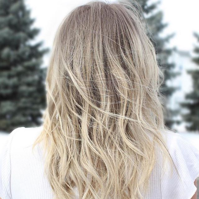 ❄️ Winter Blondes! ❄️ . Recent work from the talented @ellensscissorhands  #ourwork #hairandbodyelements #eastlansinghair #eastlansingsalon #winterblonde #platinumblonde #winterhair #lovelansing #michigansalon