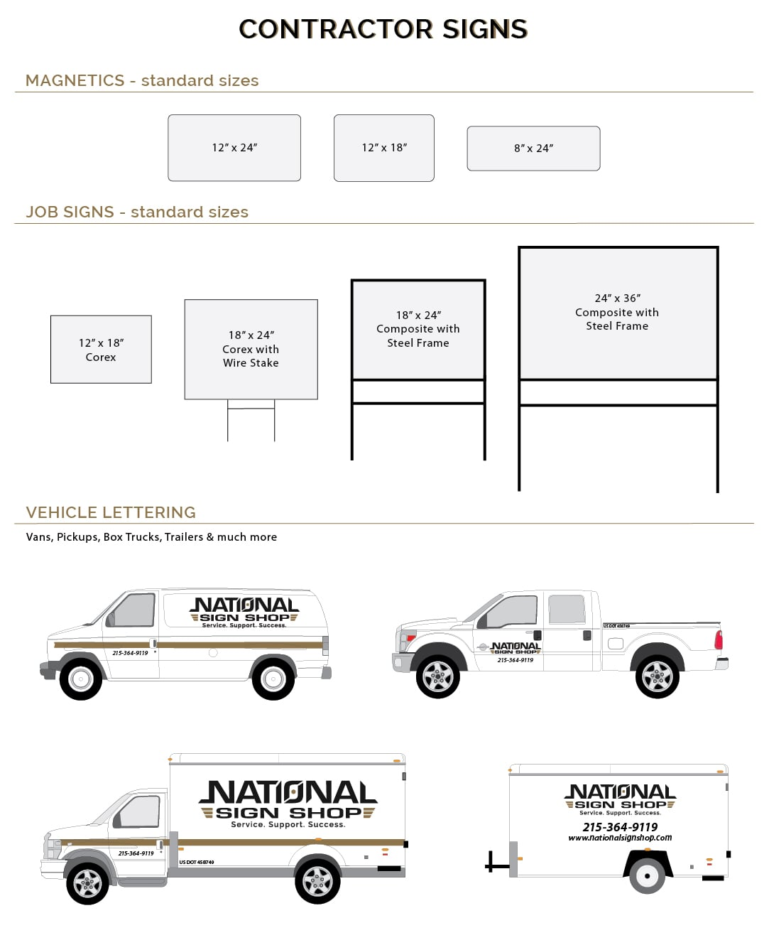 Contractor-Signs