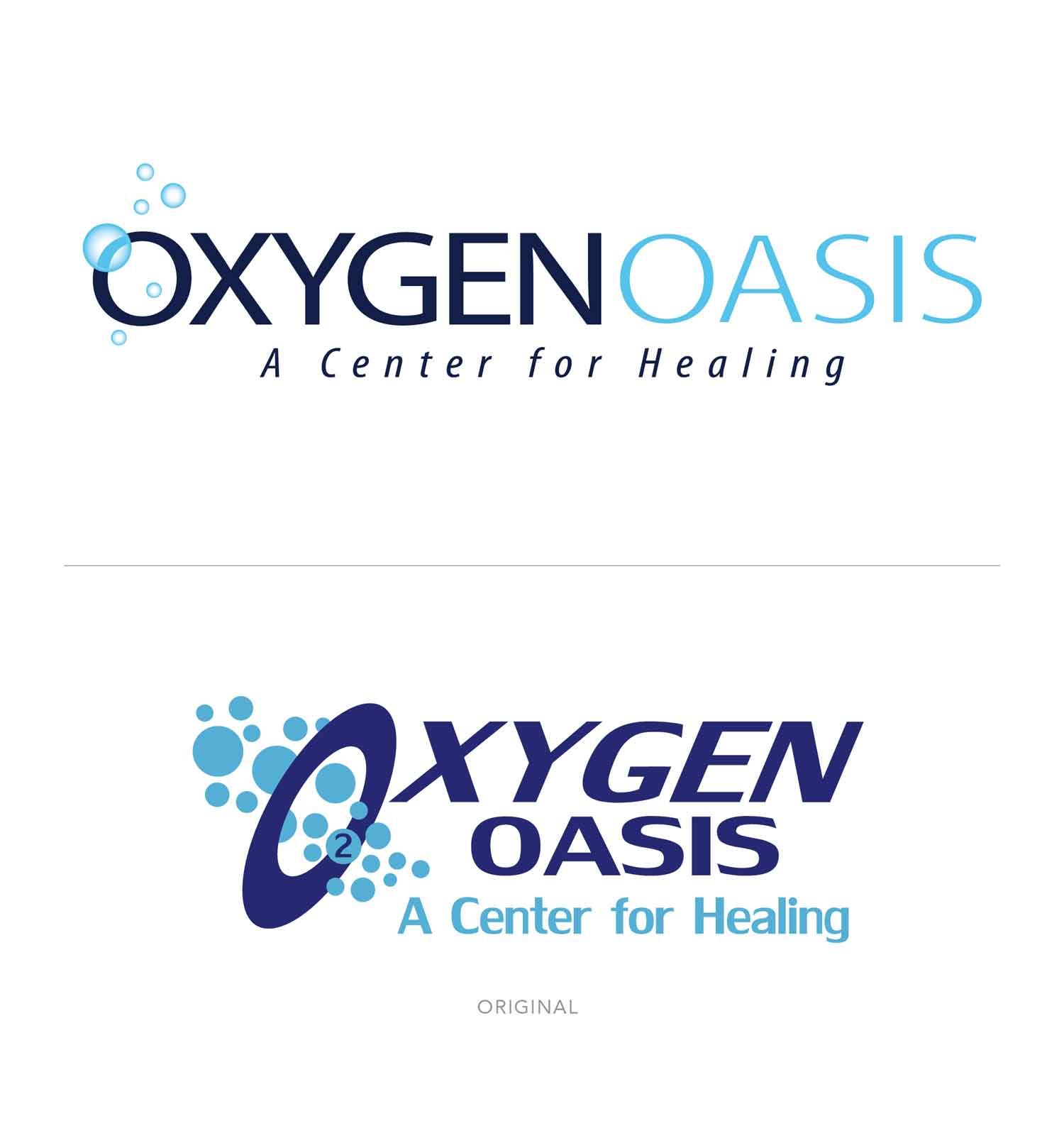 Oxygen Oasis Rebrand