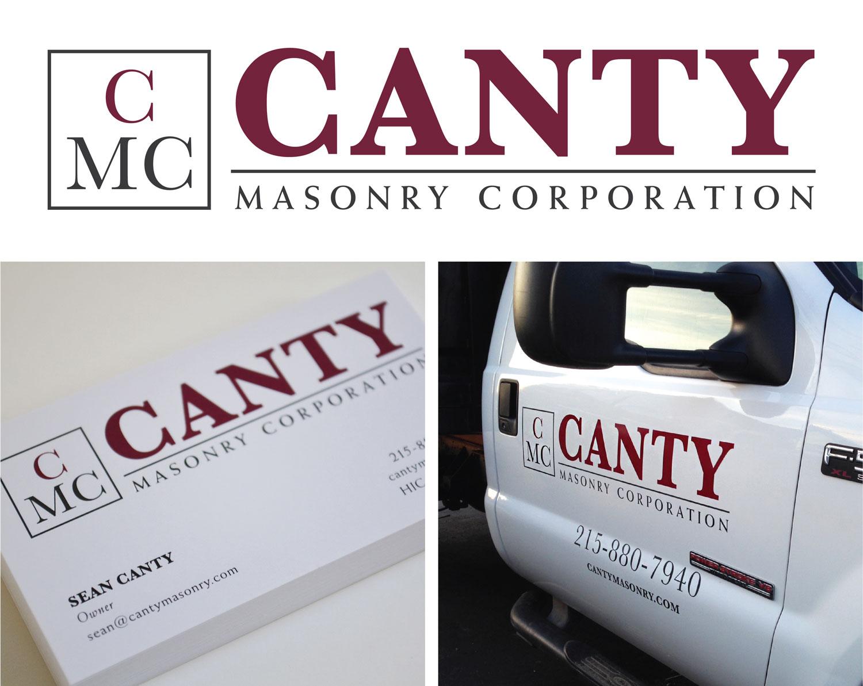 Canty Masonry Branding