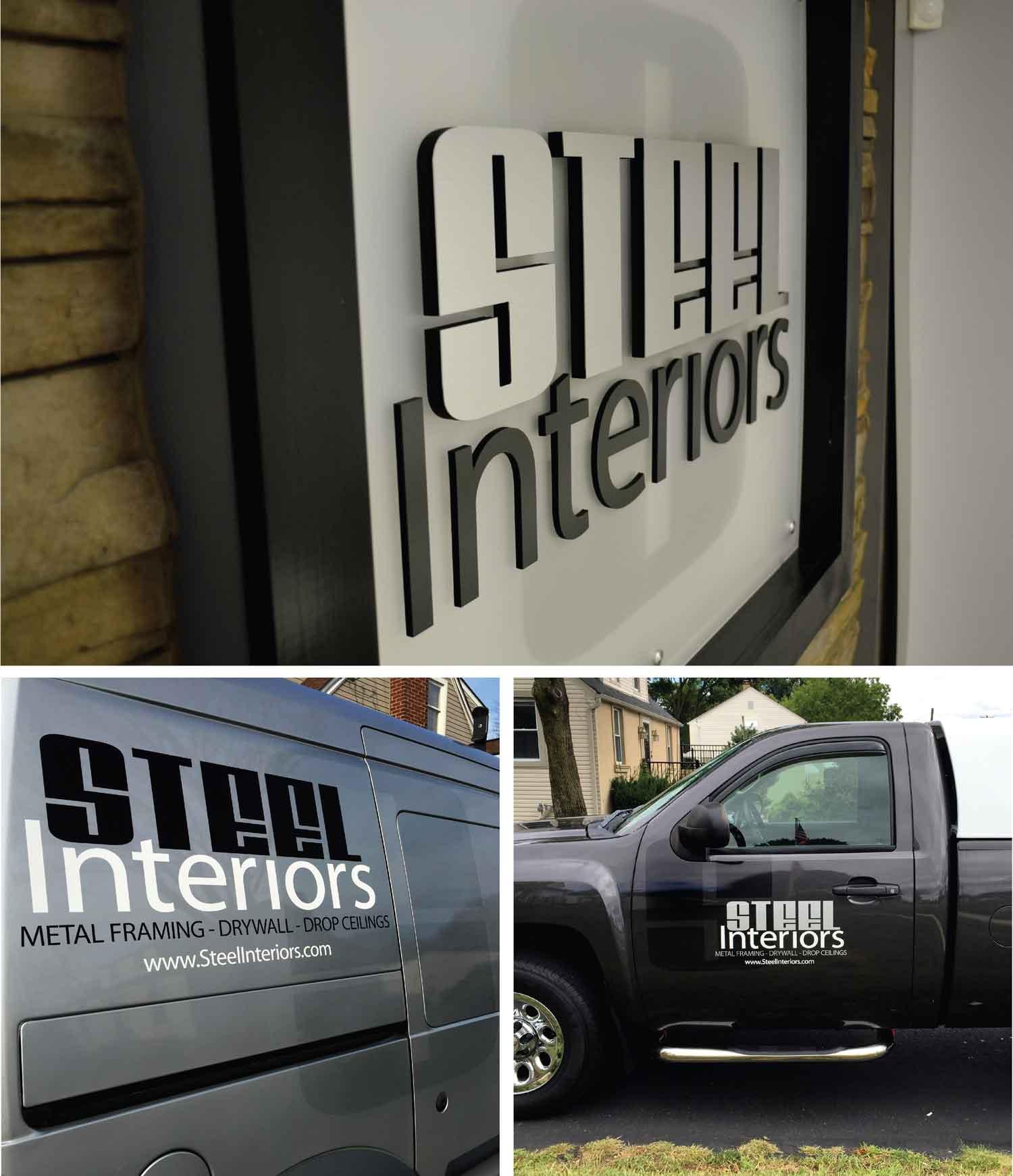 Steel Interiors Branding