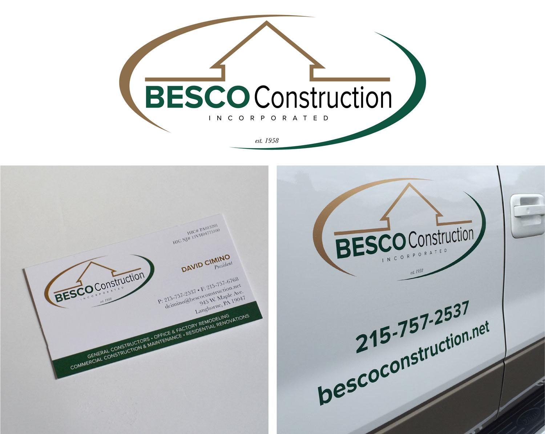 Besco Construction Branding