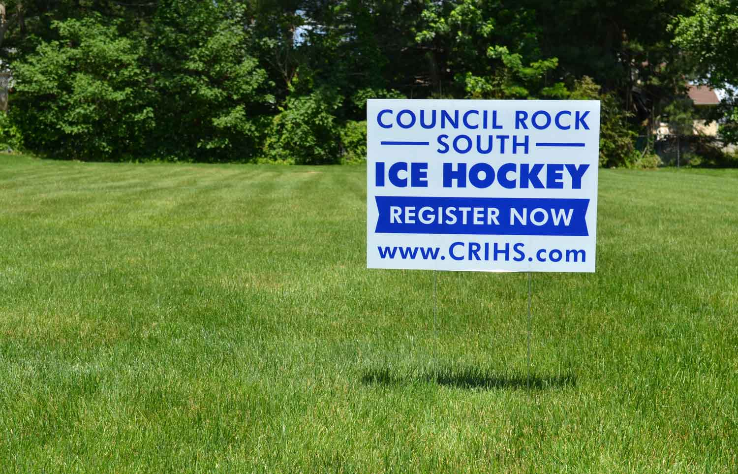 Sporting Event Lawn Sign