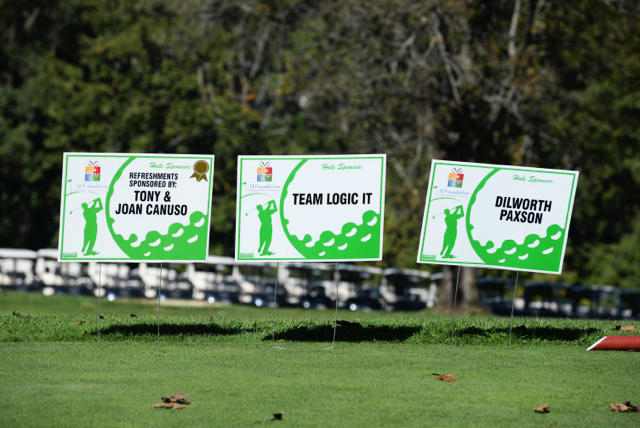 Golf Outing Lawn Signs