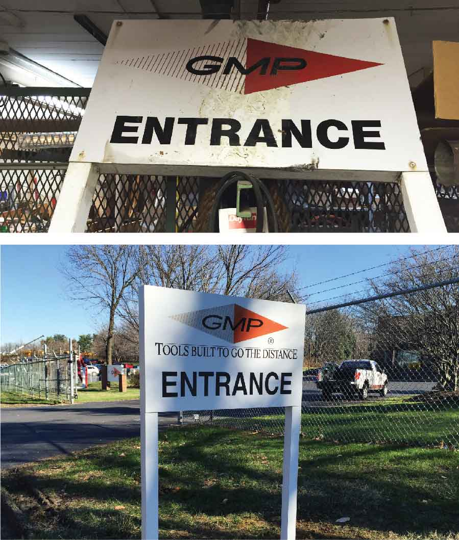 Before & After - Outdoor Sign