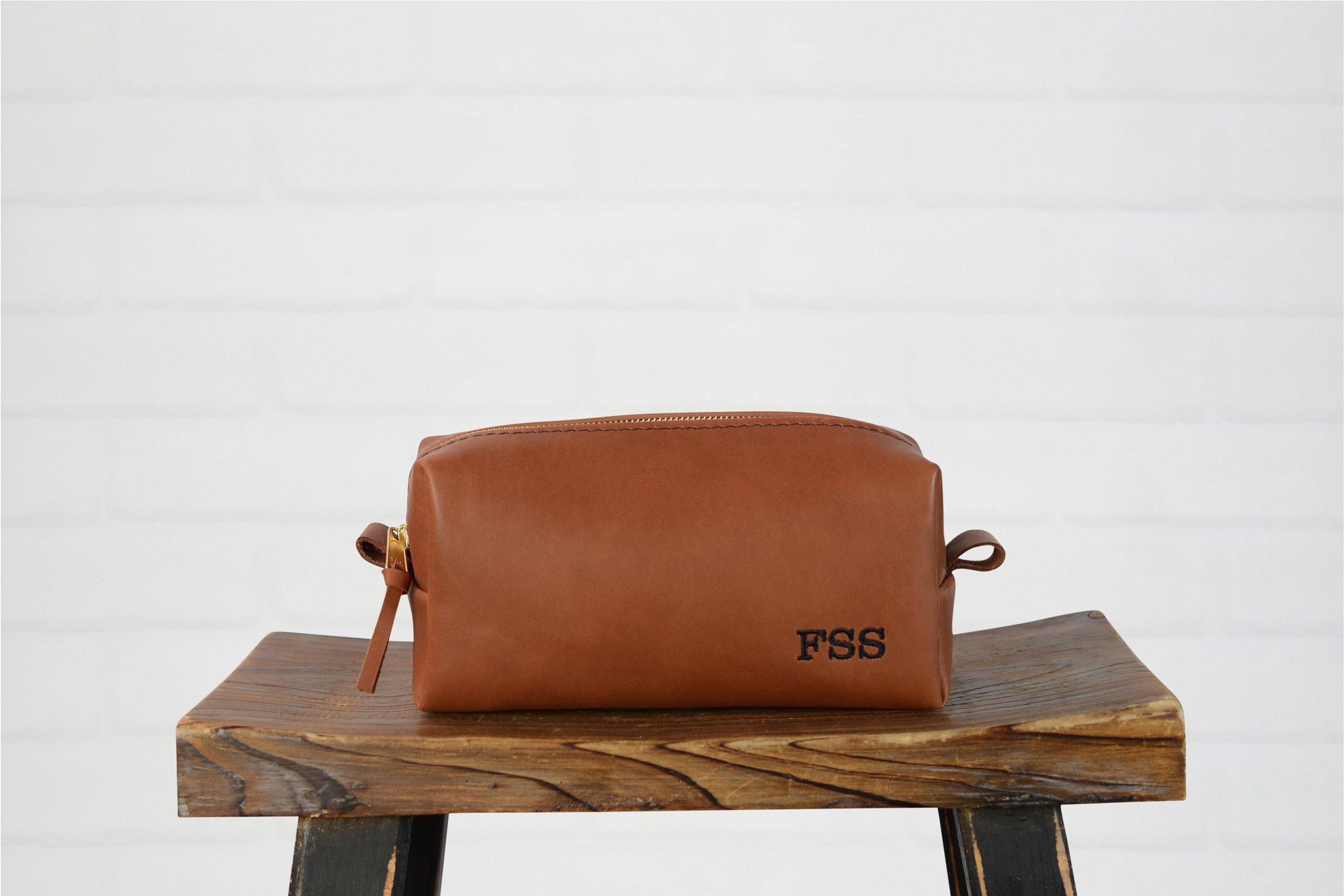 Felix Street Studios leather travel bag