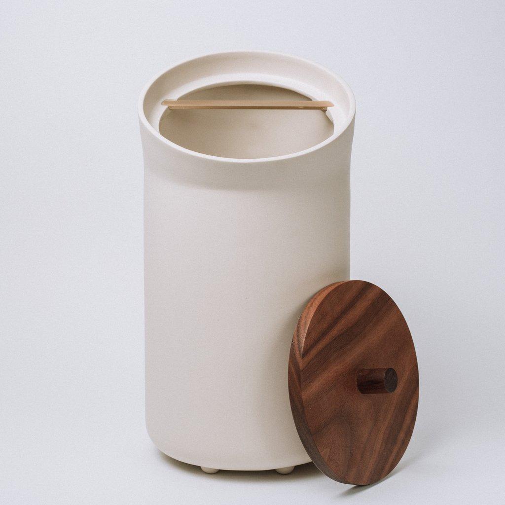 large bender handmade canister