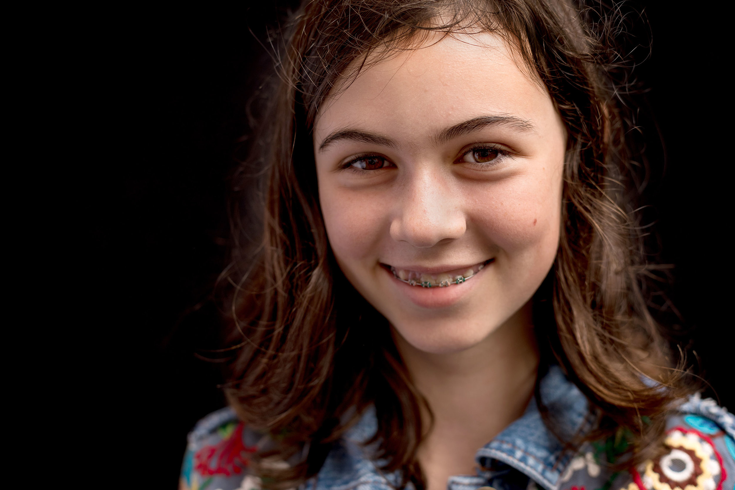 modern school portraits… - A different way to approach school photography.