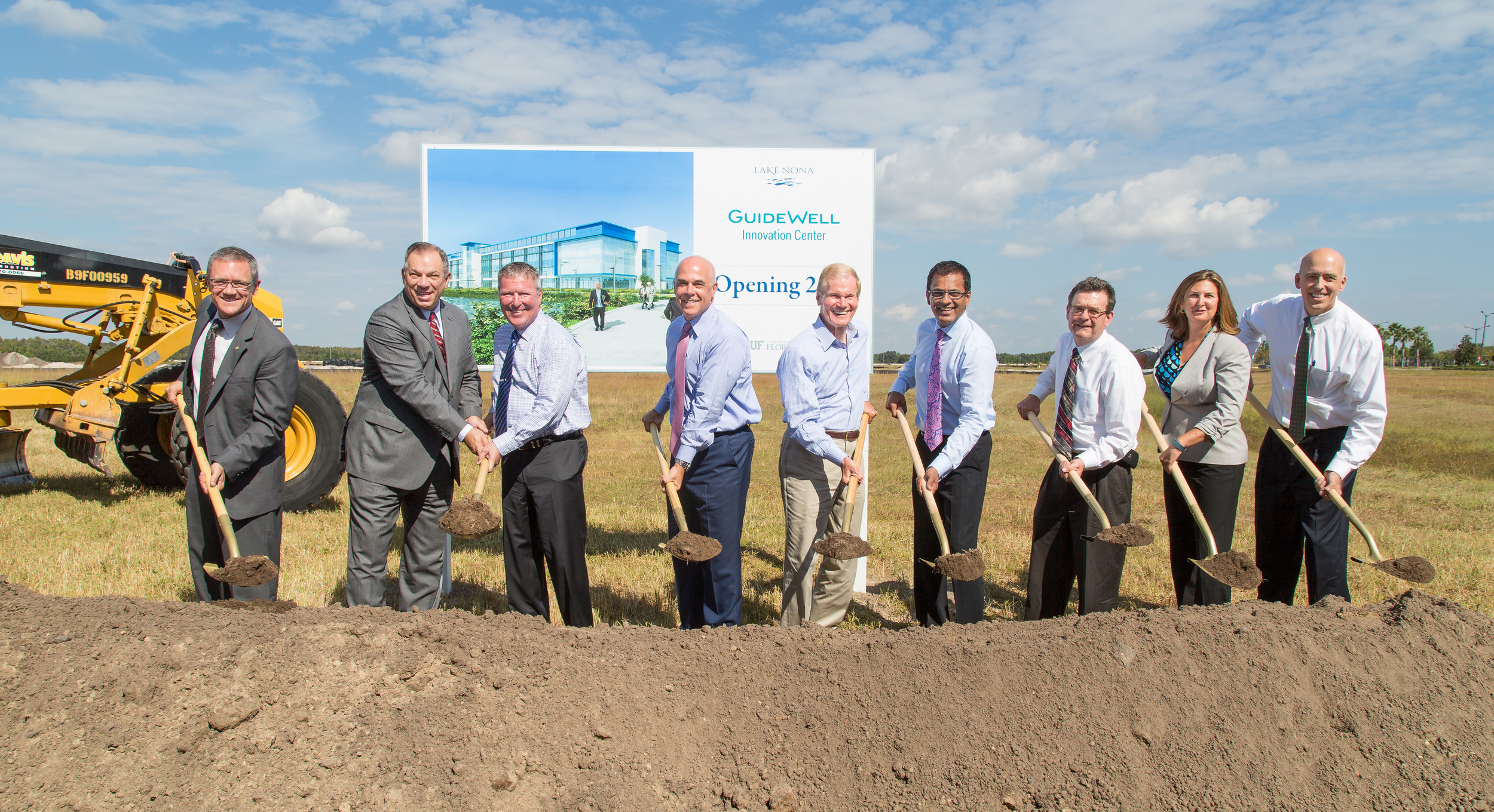 GuideWell Innovation Center Groundbreaking at Lake Nona Medical City