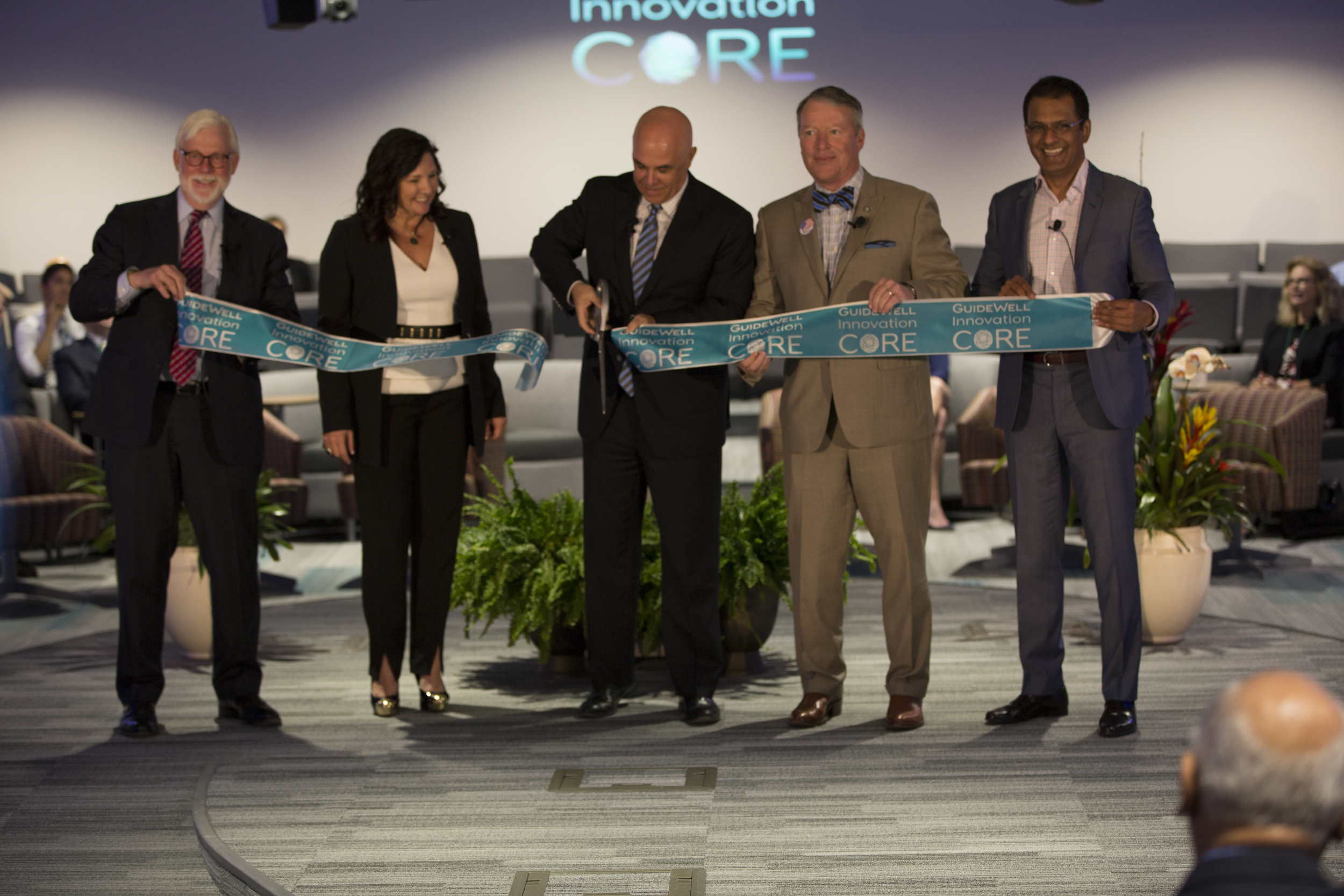 The GuideWell UST Global Innovation Center Opens