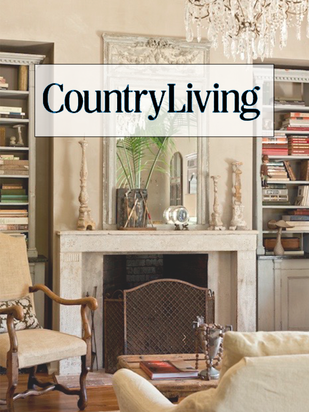 Sarah Anderson of Chateau Sonoma in Country Living Magazine