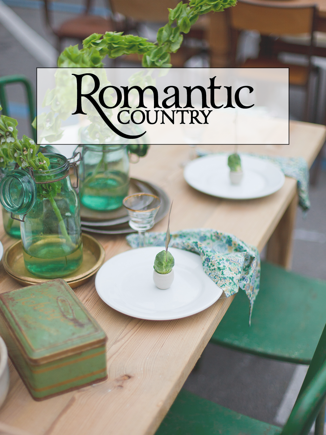 Sarah Anderson of Chateau Sonoma in Romantic Country Magazine